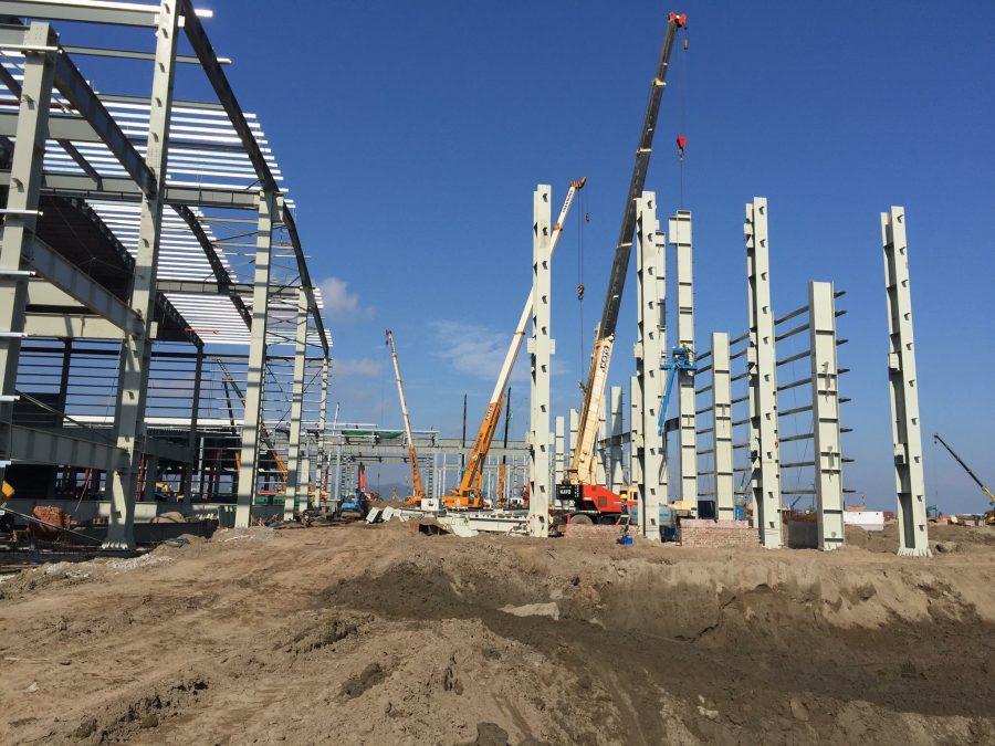 Xây dựng nhà xưởng tại Hóc Môn (4)
