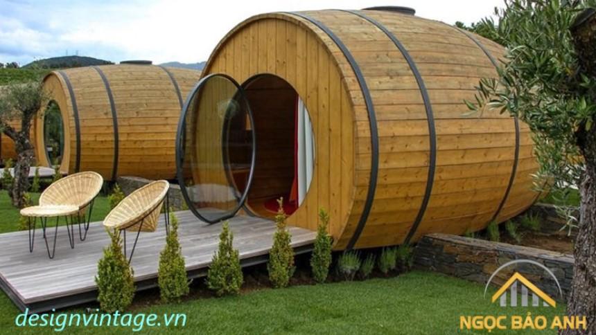 bungalow hình tròn đẹp