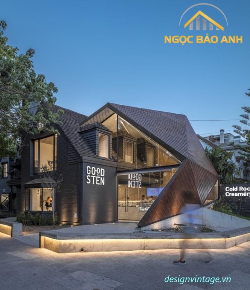 mẫu nhà bungalow hiện đại