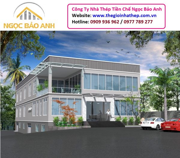 Nhà Văn Phòng 3500m2 Trảng Bom Đồng Nai