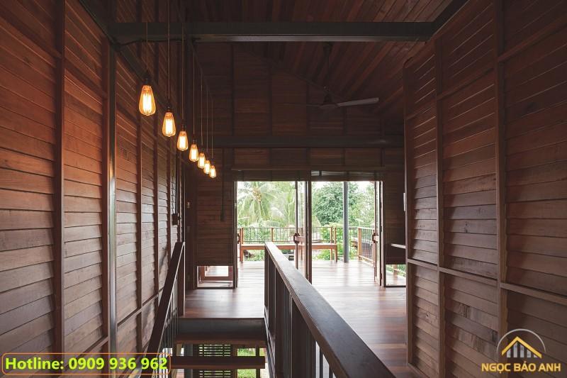 nhà thép và gỗ để ở đẹp