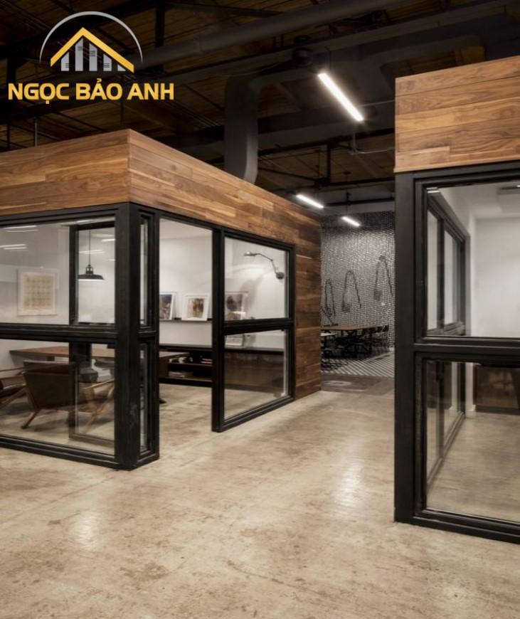 thiết kế thi công office