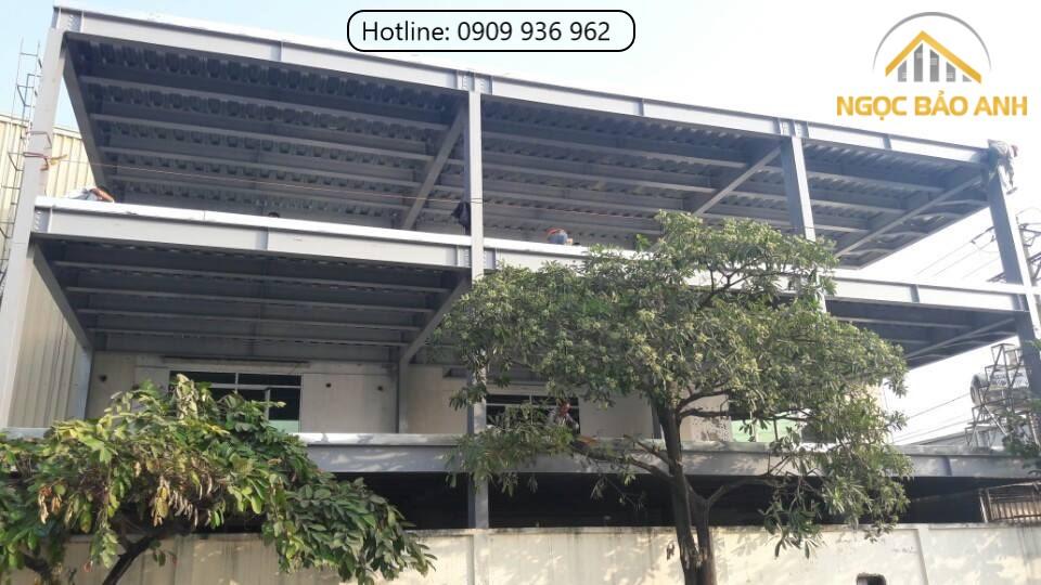 Nhà phố 3 tầng bằng khung thép quận Phú Nhuận