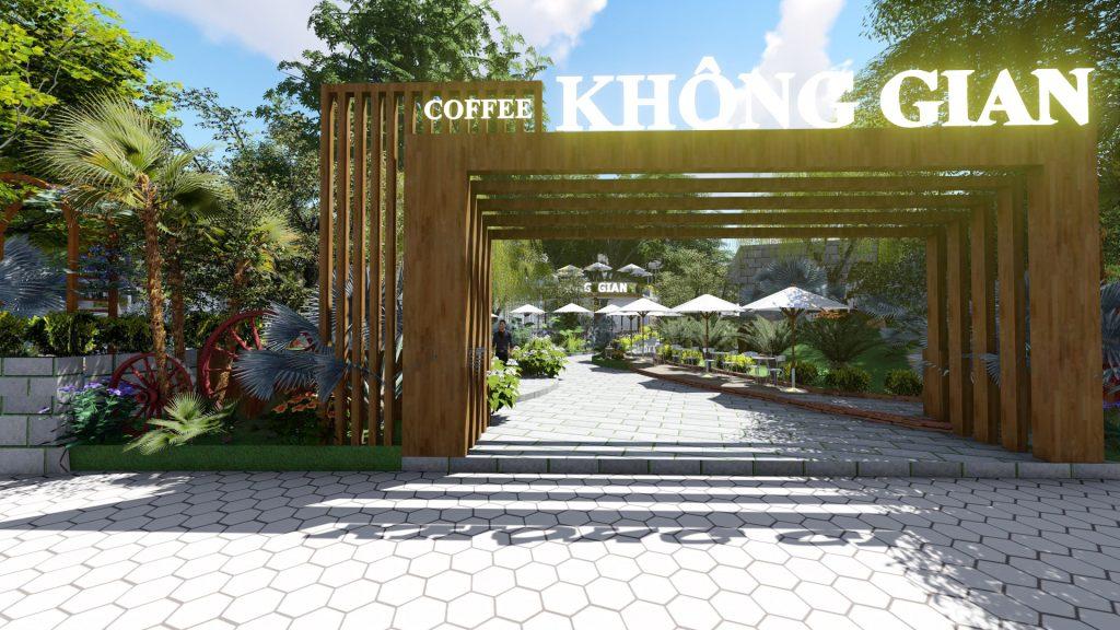 Thiết kế quán cafe sân vườn Củ Chi