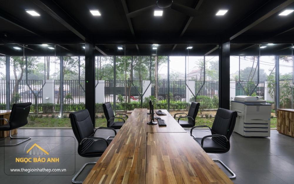 thiết kế nhà văn phòng