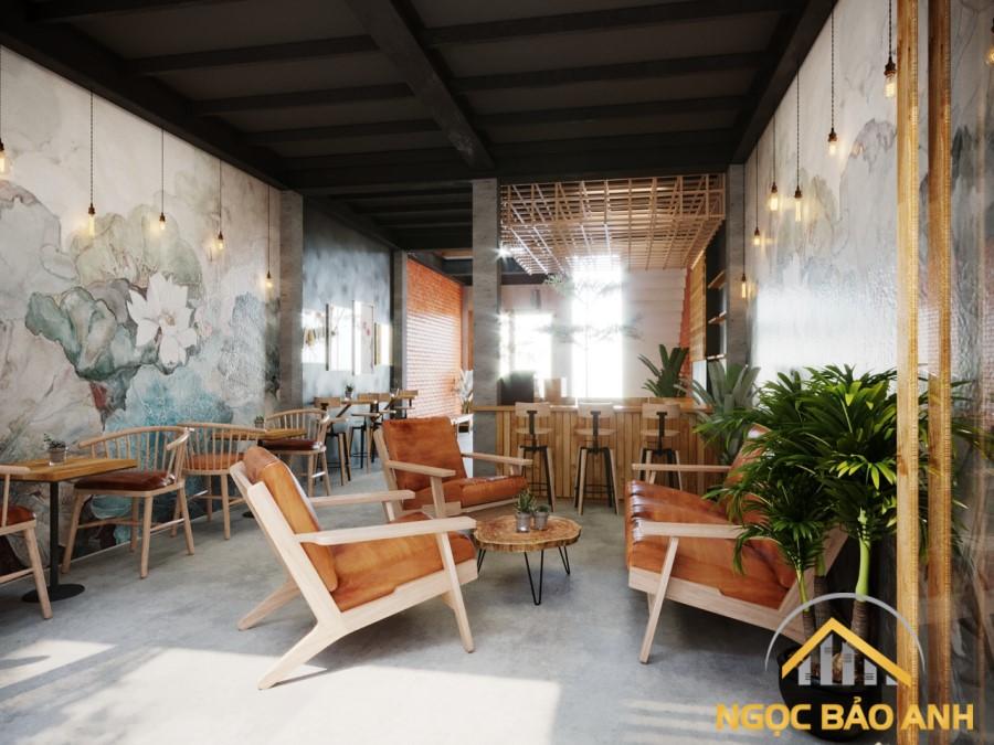thi công quán cafe Đồng Nai