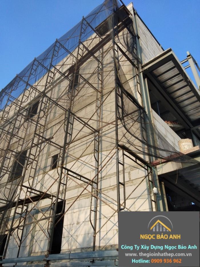 giải pháp xây dựng nhà yến bằng thép tiền chế