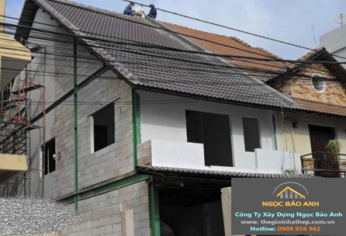xây nhà thép tiền chế giá rẻ
