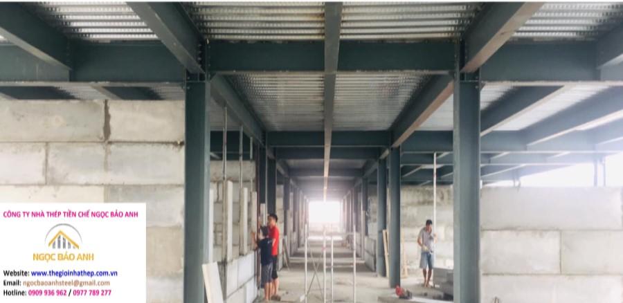 Xây dựng nhà kho tại Quận 7