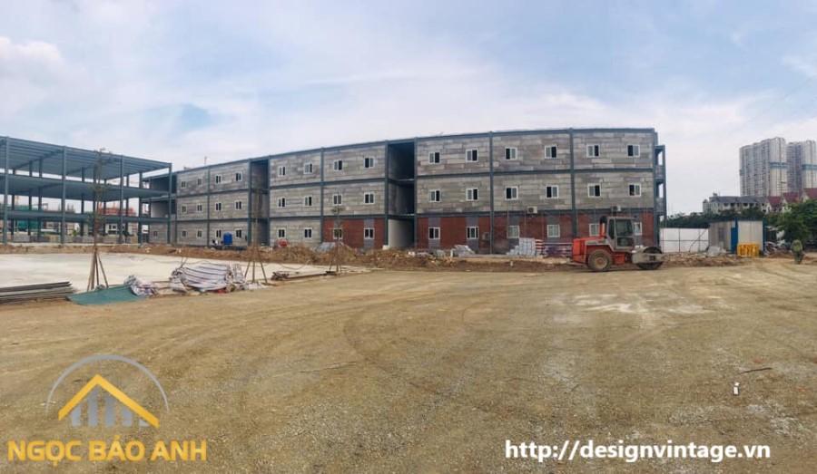 Xây dựng nhà tiền chế tại Quận 9