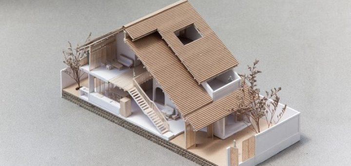 nhà 3 tầng độc đáo tại TPHCM