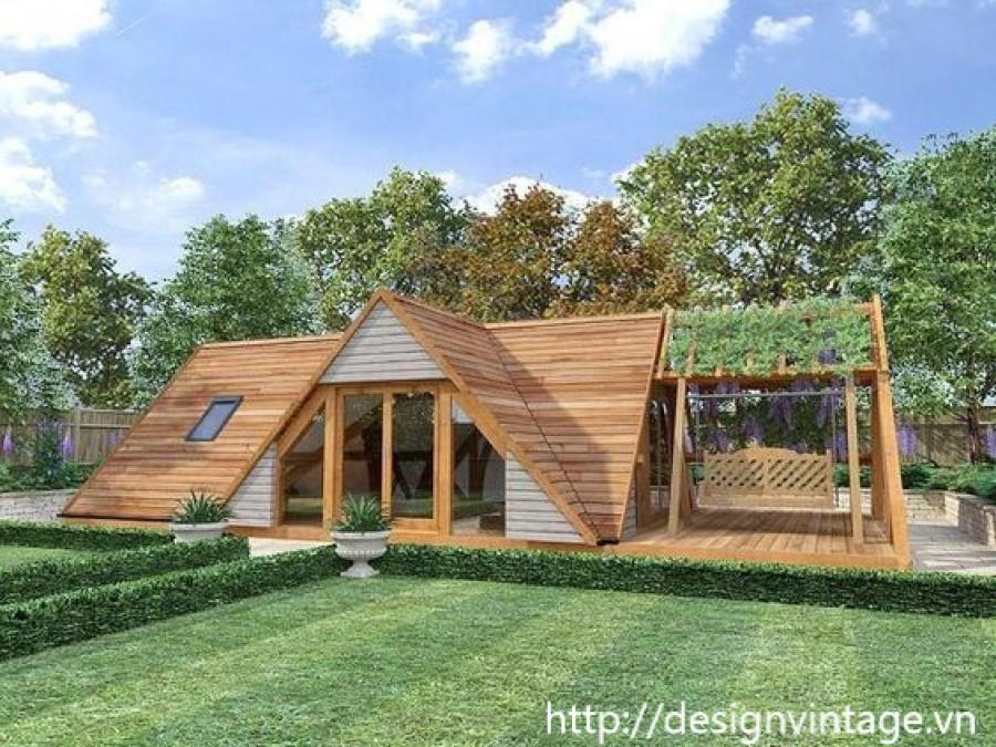 thiết kế bungalow nghỉ dưỡng