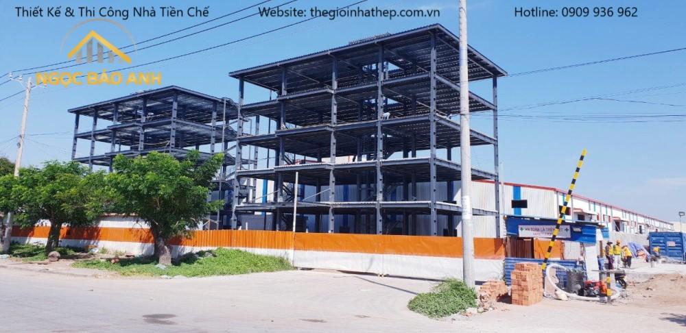 Xây dựng nhà máy tại Quận 7