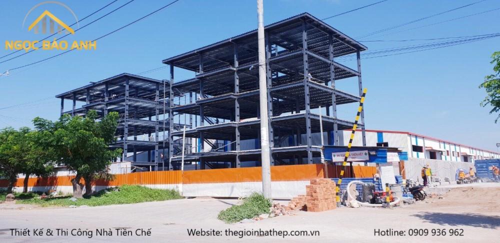 Xây dựng nhà xưởng tại KCX Tân Thuận