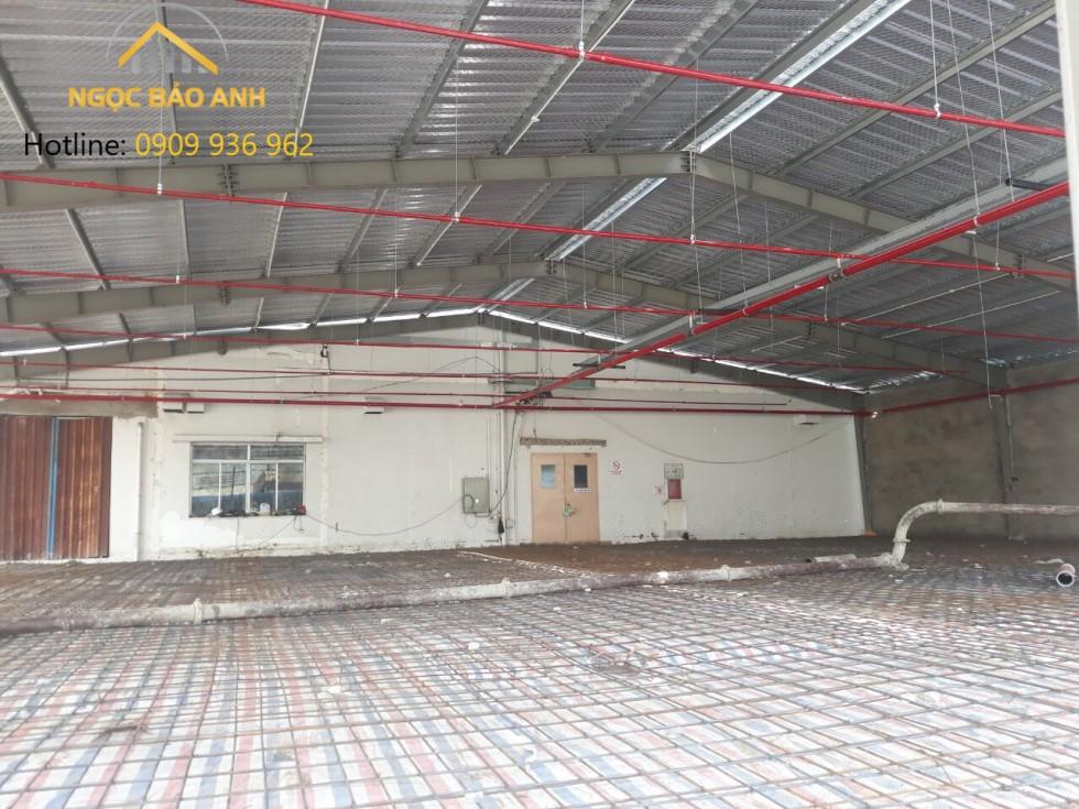 Thi công nhà kho 1000m2 Thuận An Bình Dương