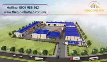 Báo giá thiết kế xây dựng nhà xưởng Bình Dương