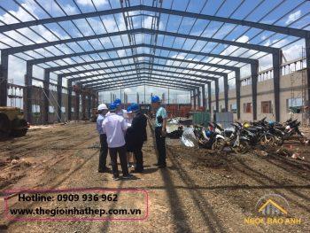 Sửa chữa cải tạo nhà xưởng tại KCX Tân Thuận Quận 7