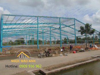 Thiết kế xây dựng nhà xưởng 70mx100m KCN Bàu Bàng
