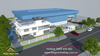 Xây dựng nhà xưởng sản xuất tại Bình Dương