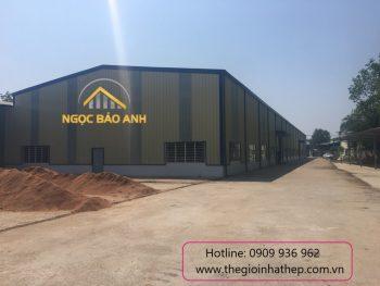 Xây dựng nhà xưởng tại Bình Phước 3500m2