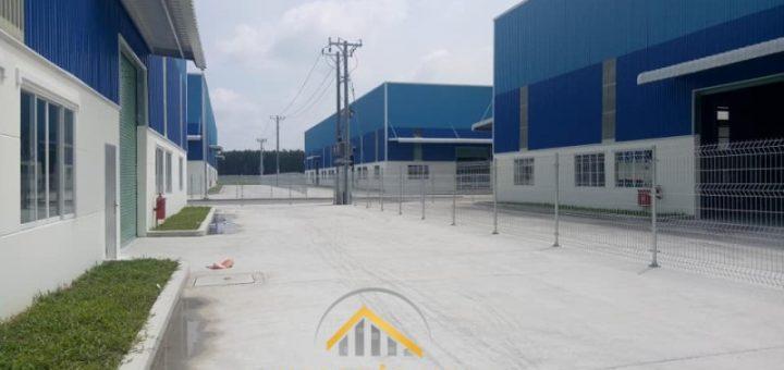 Xây nhà xưởng KCN Bàu Bàng