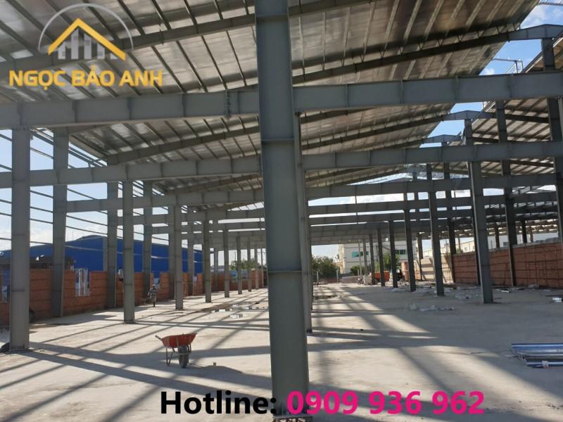 Xây nhà xưởng tại Bình Phước
