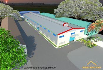 thiết kế xây dựng nhà xưởng Bình Dương