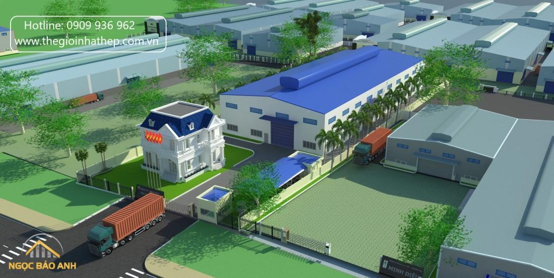 Công ty xây dựng nhà xưởng Bình Dương
