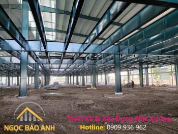Nhà thầu xây dựng nhà xưởng tại Đồng Nai