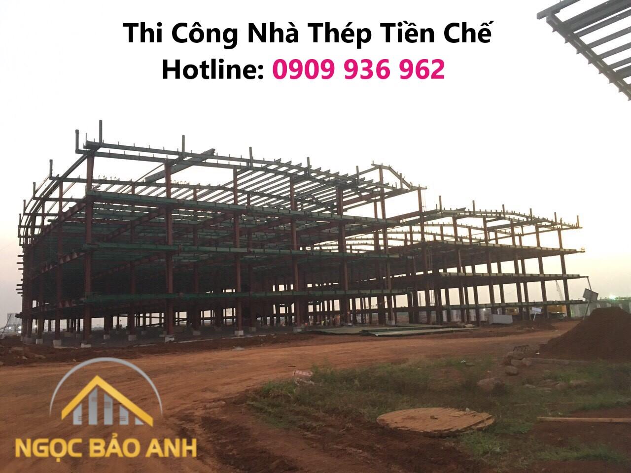 Thi công nhà xưởng tại Đồng Nai