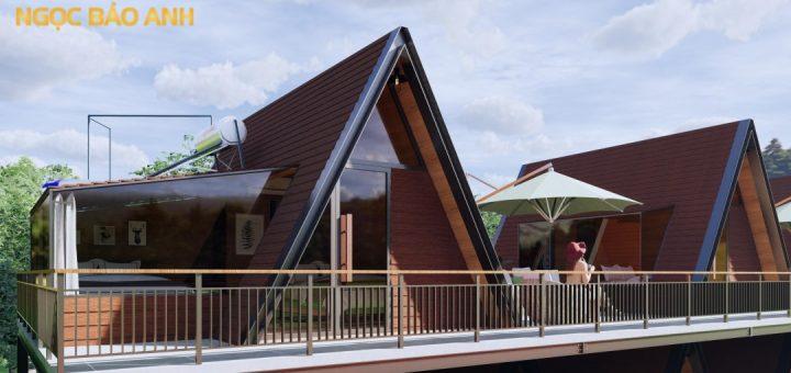 Xây dựng nhà Bungalow Phú Quốc
