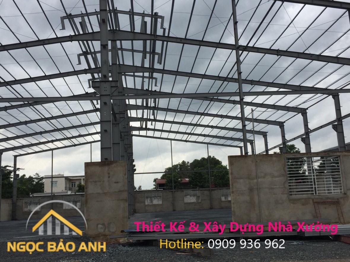 Xây dựng nhà kho ở Bình Phước