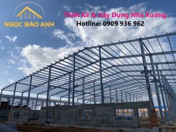 xây dựng nhà máy tại Long An