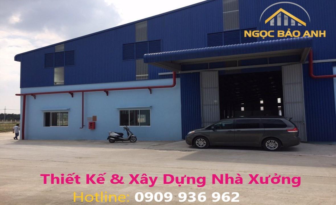 xây dựng nhà xưởng 12.000m2 tại Đồng Nai