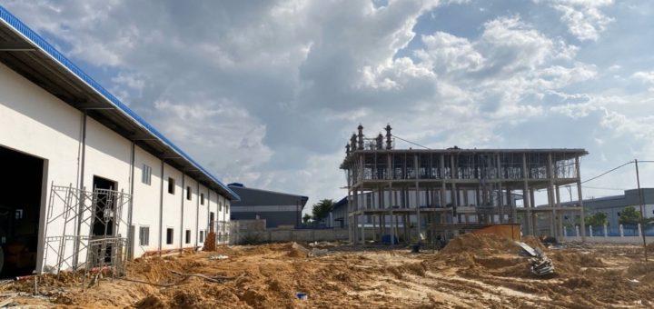xây dựng nhà xưởng tại Tiền Giang