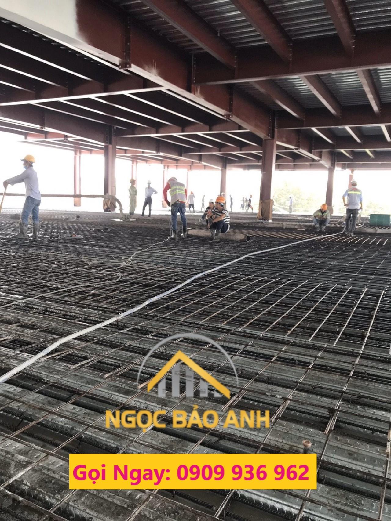 Thi công nâng sàn nhà xưởng