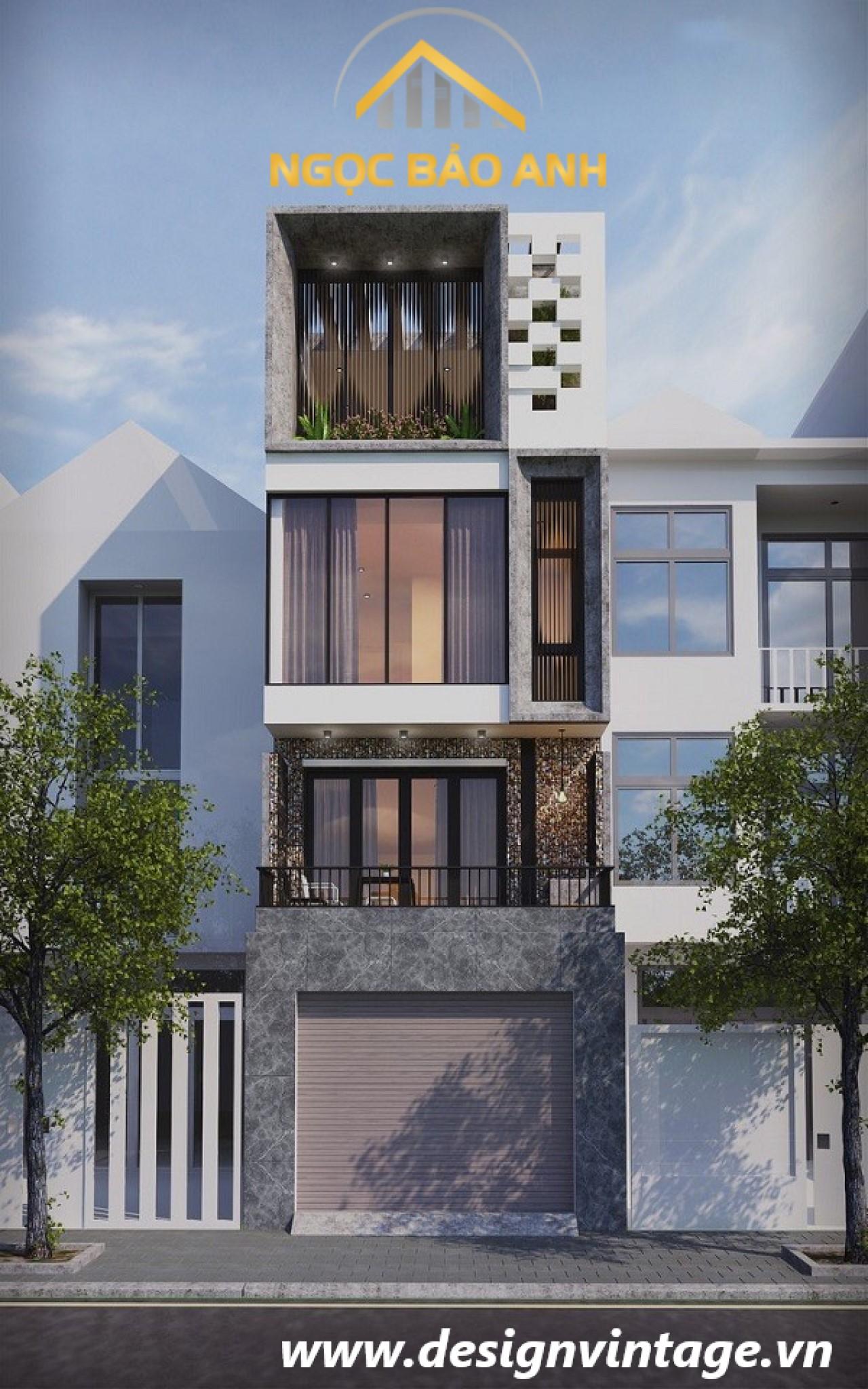 mẫu nhà 4 tầng đẹp (2)