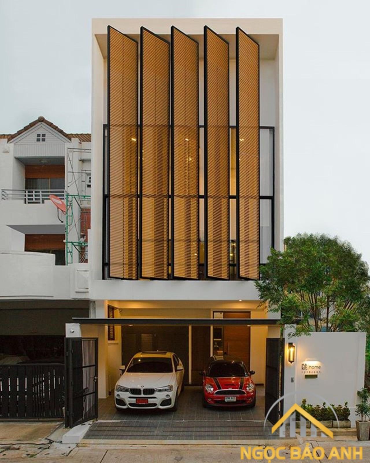 mẫu nhà 4 tầng đẹp