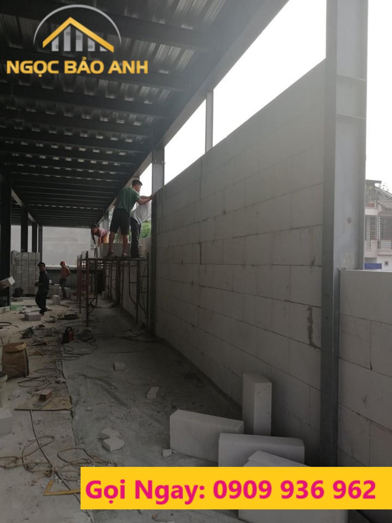 tường gạch chưng áp ACC