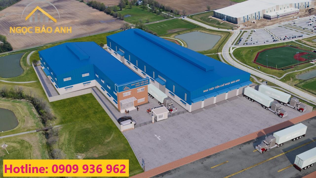 thiết kế nhà xưởng công nghiệp