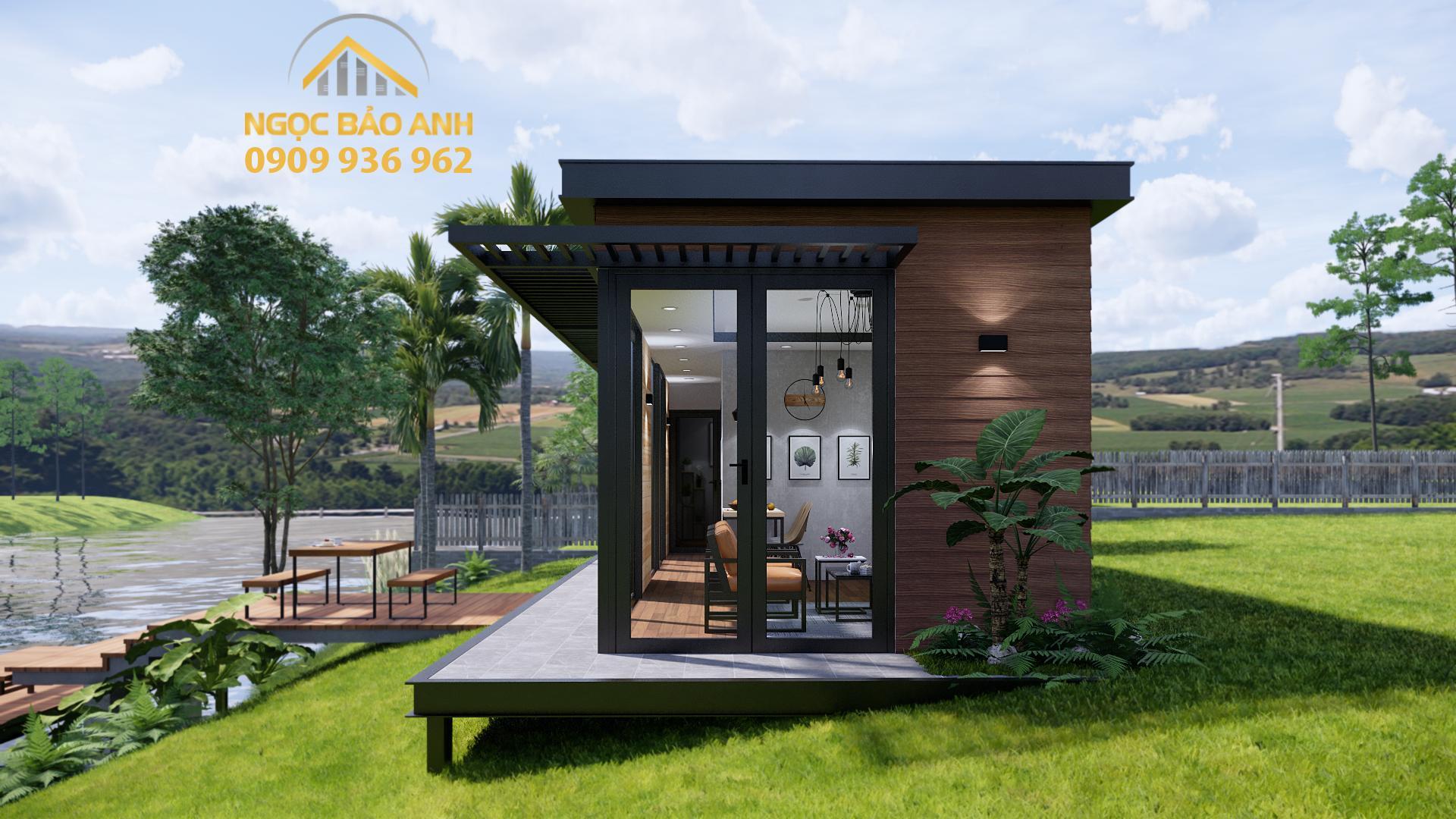 Lắp đặt nhà bungalow