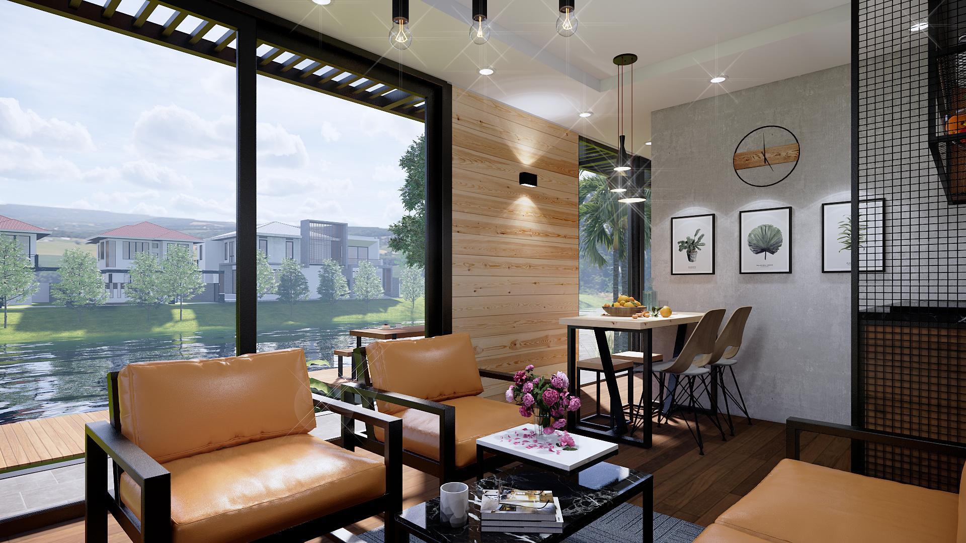 Phòng khách homestay