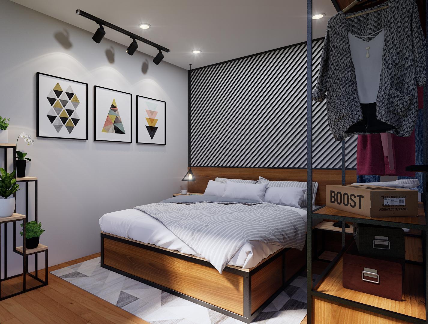 phòng ngủ homestay