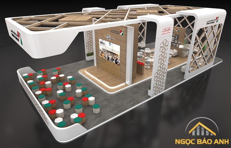 thiết kế mẫu showroom