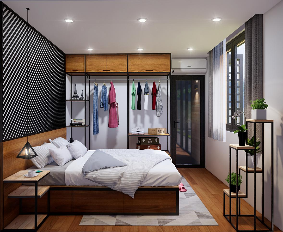 thiết kế nội thất homestay
