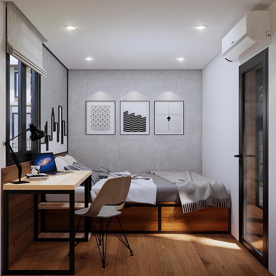 thiết kế nhà homestay