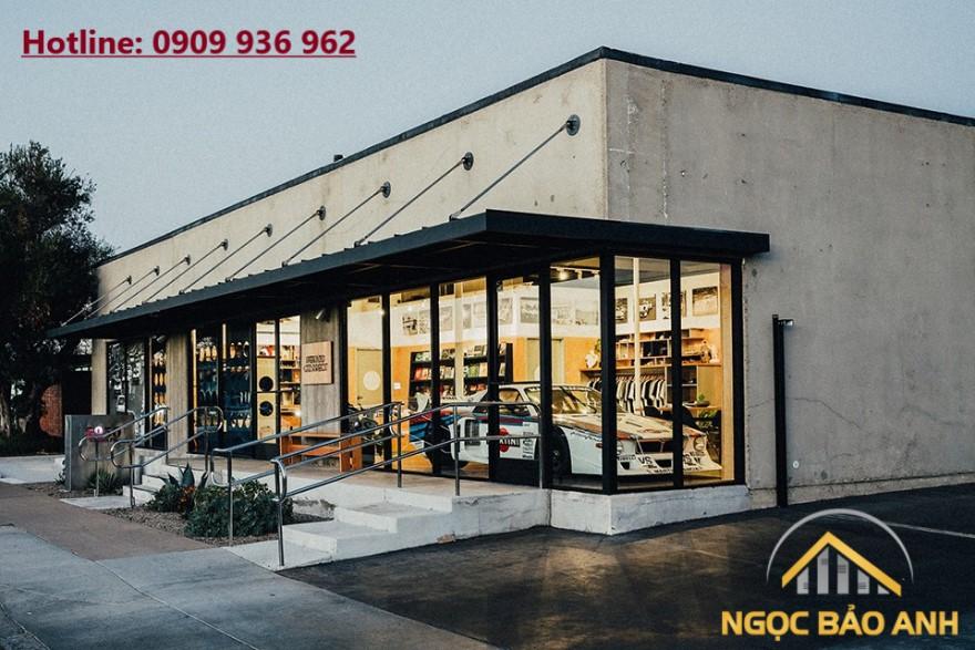 thiết kế xây dựng cửa hàng
