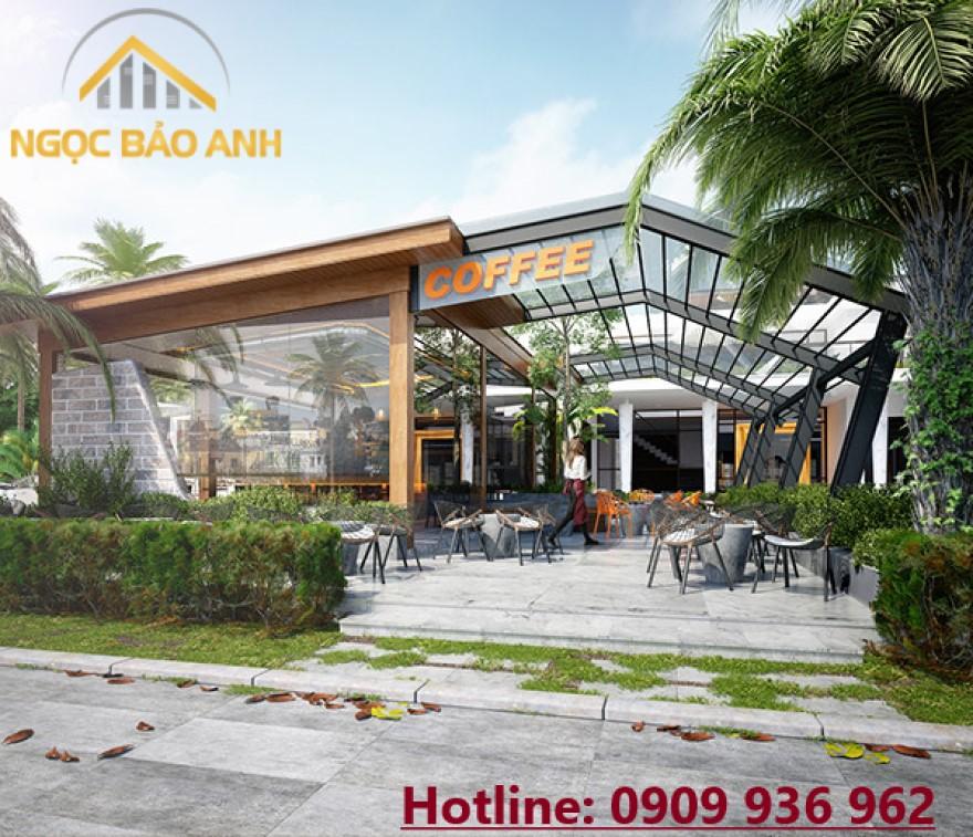 thiết kế xây dựng cafe đẹp