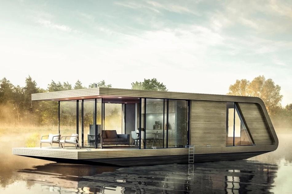 Nhà nổi trên nước