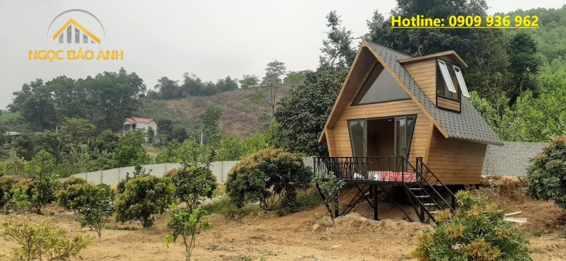 Thi công nhà homestay bungalow